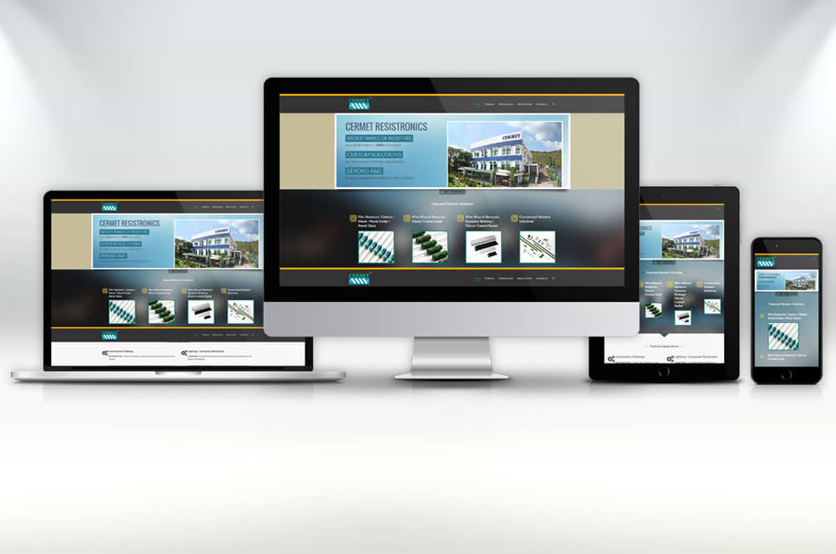 Website - CERMET RESISTRONICS PVT LTD